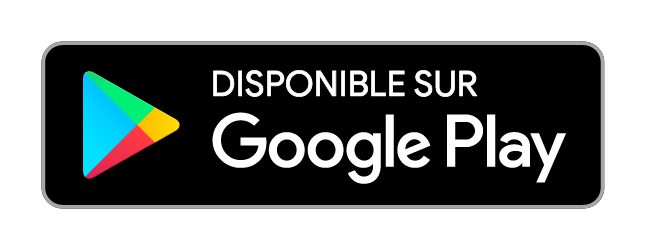 Badge officiel de Google Play